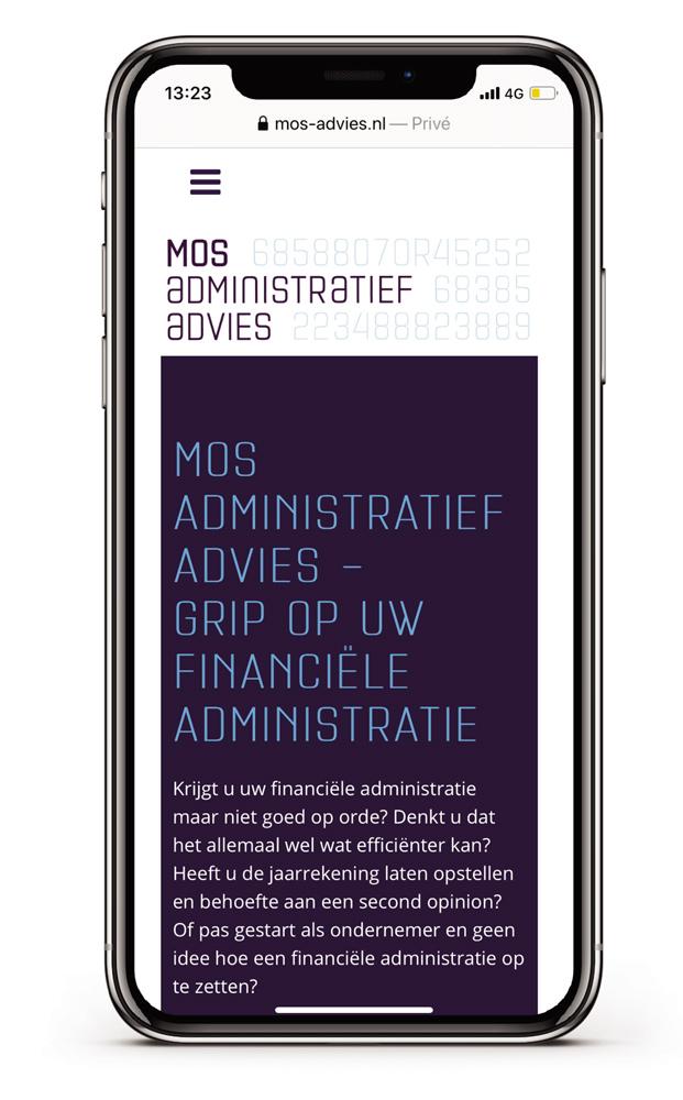 websites-en-meer* - Mos administratief advies mobiel