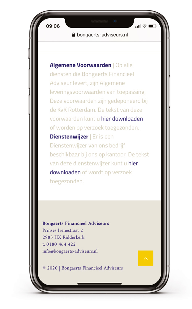 websites-en-meer* – Bongaerts financieel advies